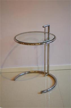 Eileen Gray Bijzettafel Prijs.Bijzettafel Verstelbaar Design Eileen Grey