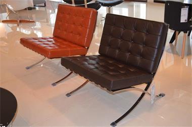 Caprinjo Design Meubels Maastricht.Barcelona Stoel Runder Leder Chair Leer Design Kopen Fauteuils